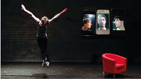 "fabien prioville dance company (D/F) ""The Smartphone Project"""